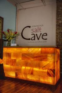 Salt Cave Reception